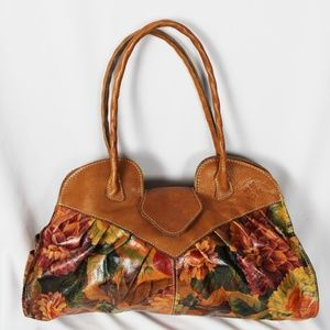 Patricia Nash Spring Multi Floral Shoulder Bag